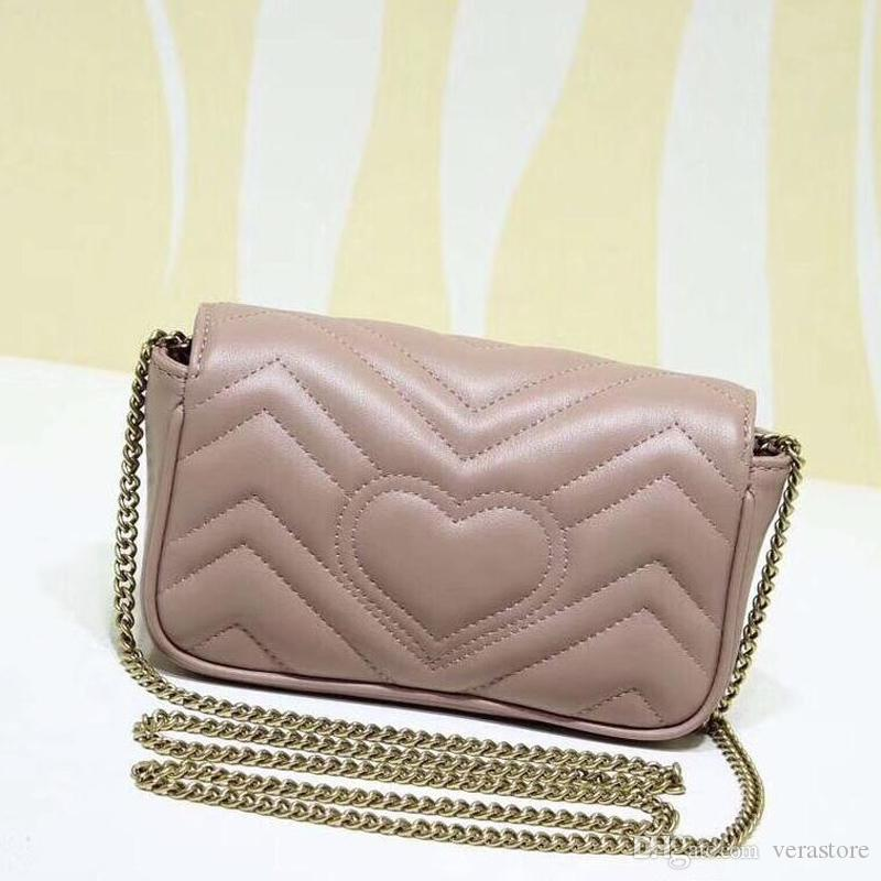 Verastore Mini Qualidade High Leather Bolsas de Luxo Famoso Saco de Designer Feminino 16.5cm ombro Mini de sacos Mulheres Marcas Femininas DGVMQ