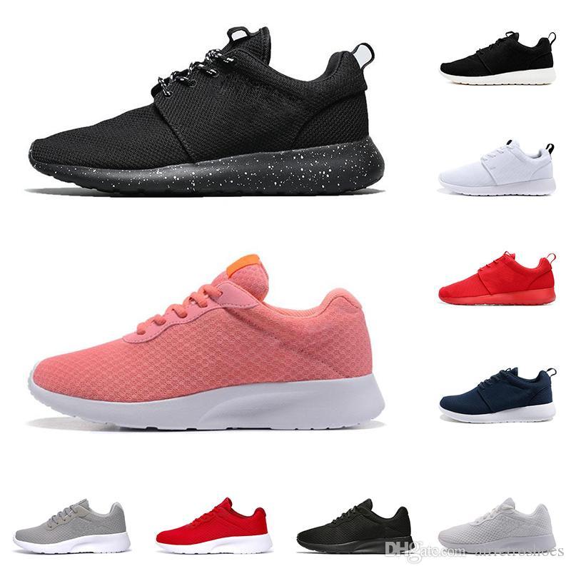 저렴한 Tanjun 3.0 런던 1.0 실행 신발 남성 여성 트리플 검정, 흰색 가볍고 통기성 올림픽 스포츠 스니커즈 남성 트레이너 36-45