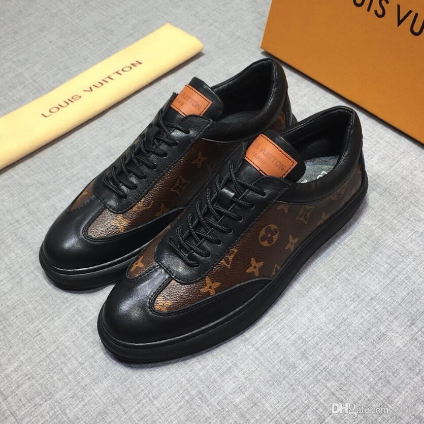 2020 Kadife Siyah erkek ve bayan butik ayakkabıları güzel kalın tabana vurma gündelik spor ayakkabıları sıcak satış deri düz renk elbise ayakkabı # 6321LV