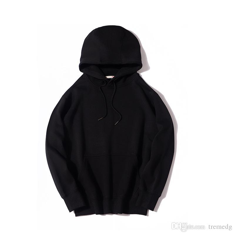 Sweatshirt Automne hiver Casual Sweats à capuche à manches longues à manches longues Sweat à capuche massif de grande taille Hombre Top Blouse Suivi