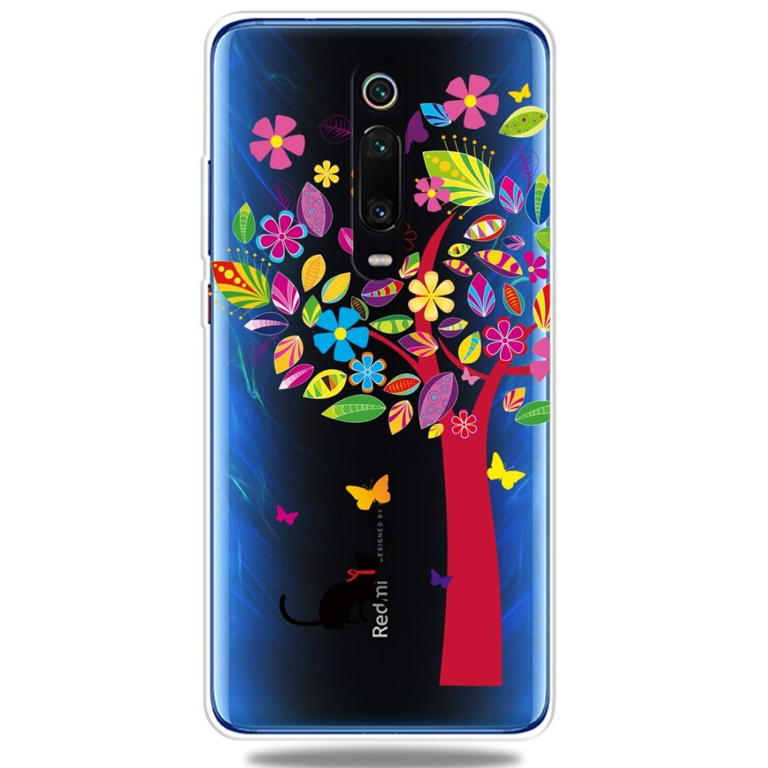 Moda suave TPU caso 3D dibujos animados transparente suave cubierta de silicona teléfono casos para Xiaomi 9 t/9 t Pro/redmi K20/Redmi K20 Pro