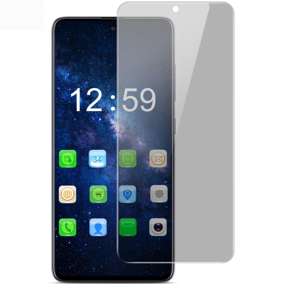 Für Galaxy A71 IMAK HD Anti-Spion Ausgeglichenes Glas-Schutzfolie