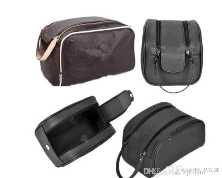 26 CM kalite erkekler seyahat tuvalet çantası moda tasarım kadın yıkama çantası büyük kapasiteli kozmetik çanta makyaj tuvalet çantası Kılıfı