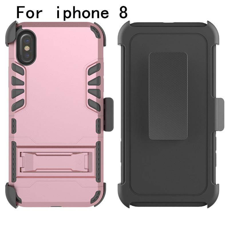 iphone için 1 Kapak 8 LG K20 artı lv5 V5 MetroPCS Hibrid Zırh Vaka Ağır Hizmet Dayanıklı Robot Darbeye 3 x