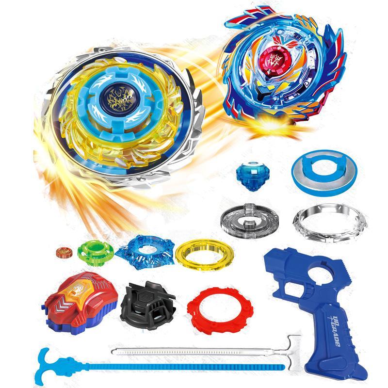New Battle Top Burst Age Children's vs. War Alloy Set Magic Spindle Top Toys