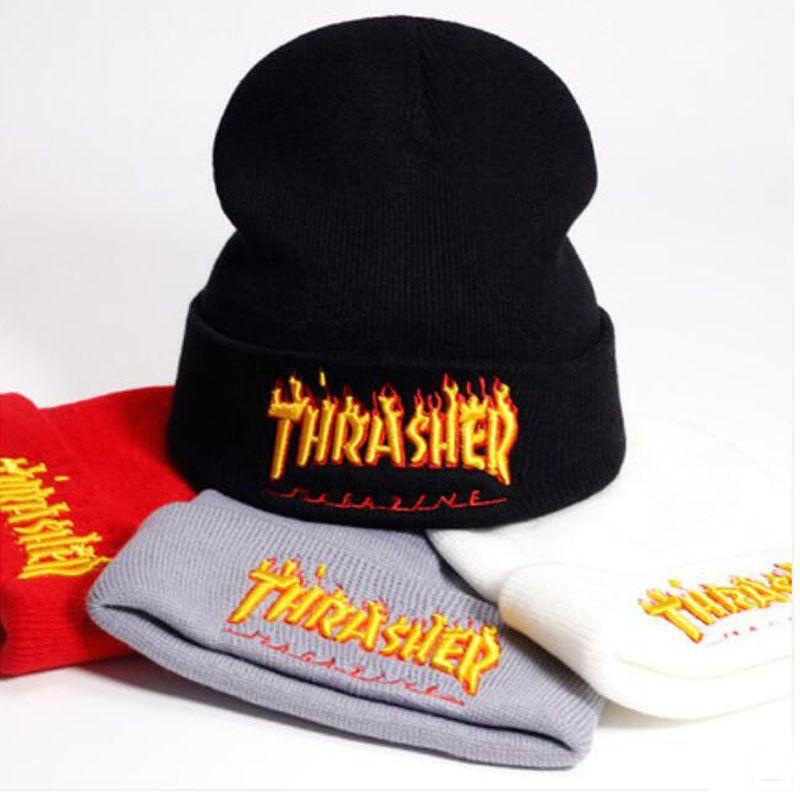 Coppie Cappelli caldo di vendita del progettista di marca Skull Caps Moda Inverno Primavera Sport Berretti casual cappelli lavorati a maglia Hip Hop di trasporto