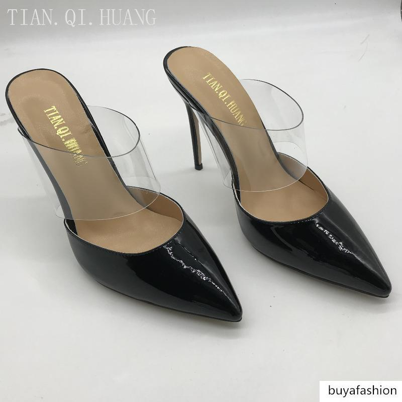brand New Fashion Design High Heels Women Sexy Pointed Toe Casual High Quality Spring and Autumn Patent leather Shoes Woman