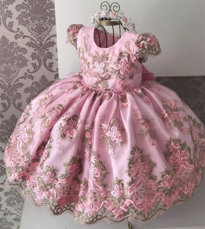 Cacsual Prenses Giydirme Kız Tutu Küçük Çiçek Kız Yabancı Gelinlik Sunucu Noble Piyano Performans Kostüm