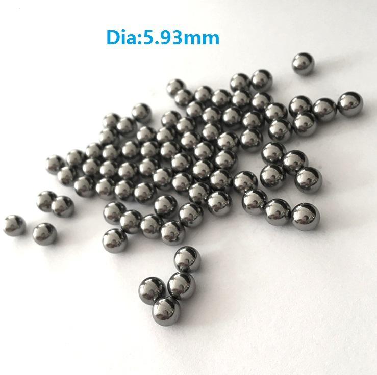 1kg/lot high quality steel ball Dia 5.93mm high-carbon steel balls bearing precision G100 diameter 5.93mm