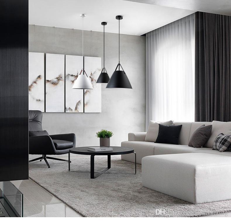 Scandinavian modern minimalist personality restaurant Bar pendant lights Macaron single bedroom study wrought iron pendant lamps
