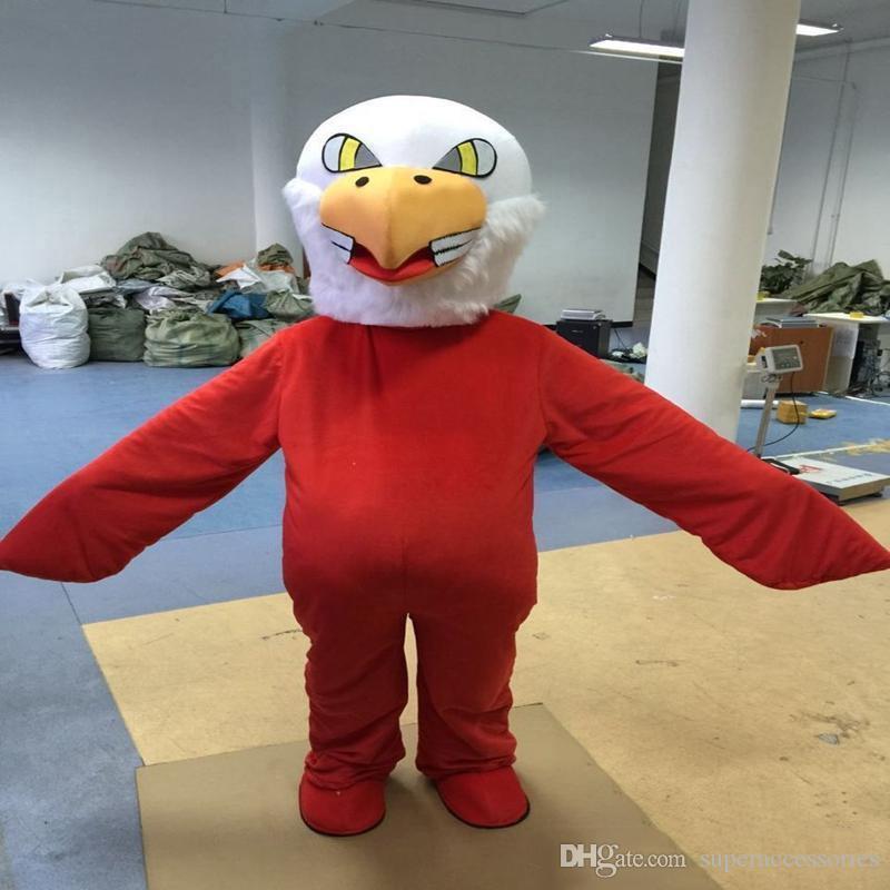 2019Discount fabbrica di vendita Aquila Formato adulto della mascotte del fumetto Costume di Halloween