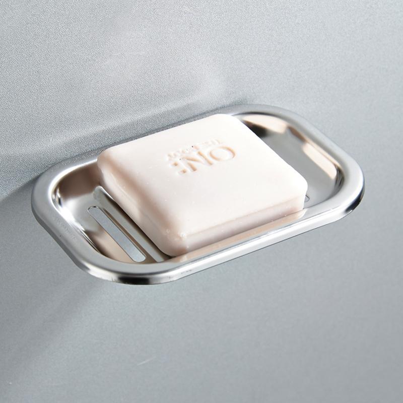 Tapeçaria Soap Box Banheiro Saboneteira 304 inoxidável Sabão Aço Titular contentores Acessórios Banho Hardware