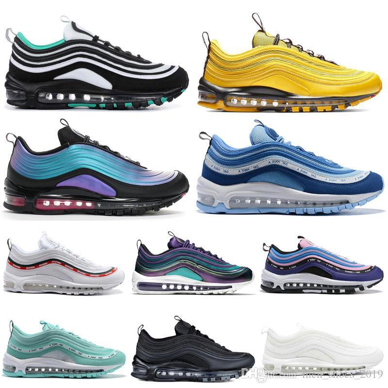 Nike Air Max 97 Airmax Hombres Mujeres Zapatos Para Correr Nuevo Verano De  Amor Para Hombre Entrenador Zapatillas Deportivas Corredores Por ...