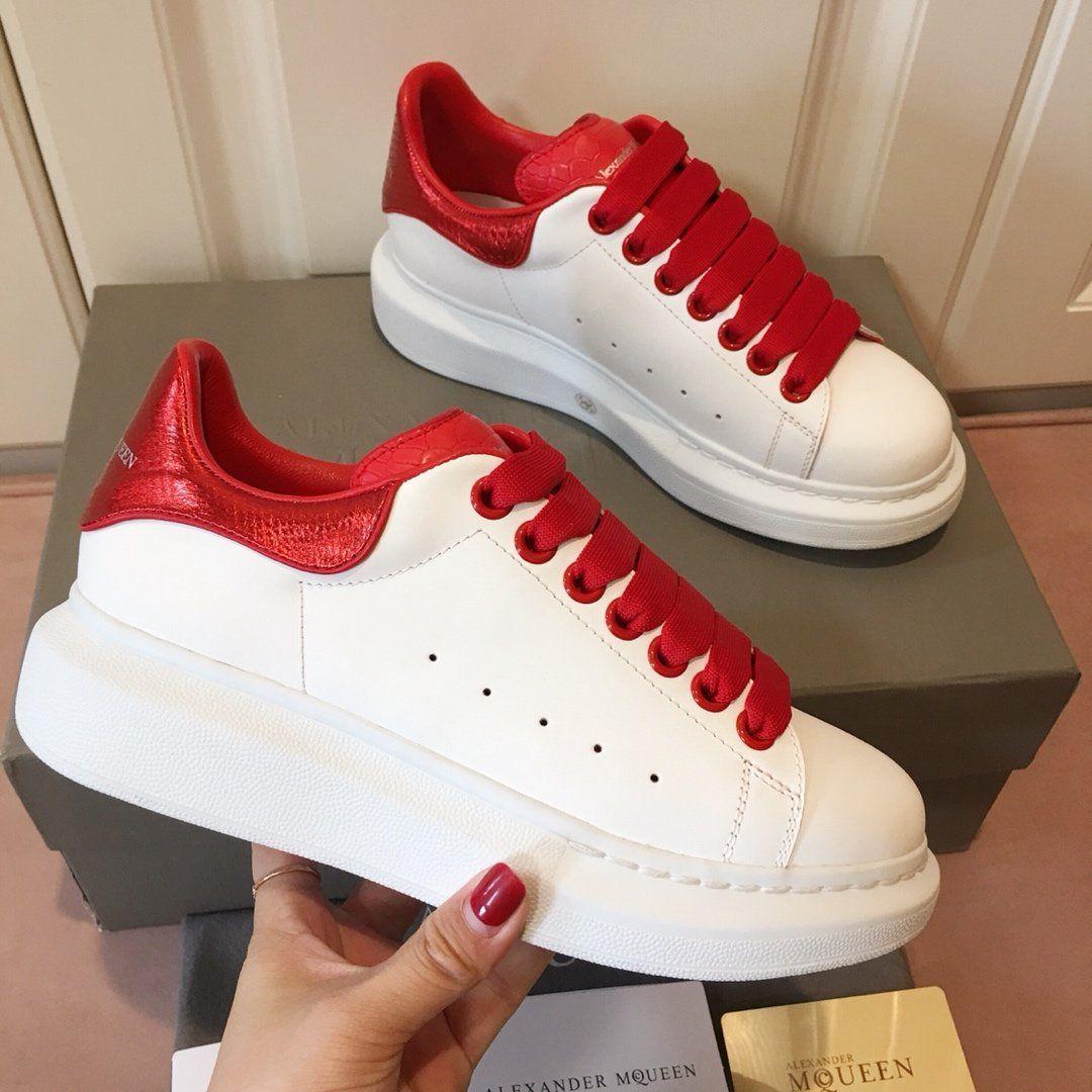 2018scarpe da uomo di conception de luxe femmes chaussures chaussures de sport de la plate-forme chaussures de sport d'or formateurs MQ haute Tos hommes de scarpe size35-44