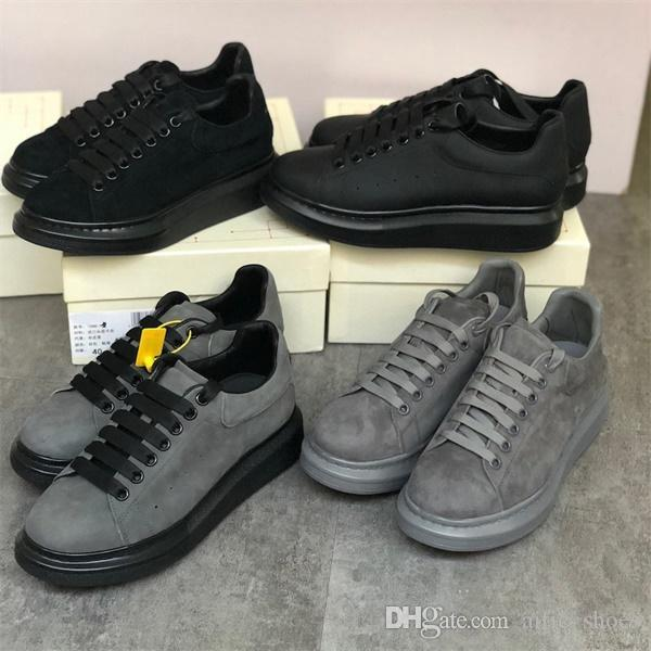 Top qualité Hommes Femmes Mode Plate-forme Sneaker luxe surdimensionné 100% Chaussures Designer cuir véritable à lacets Courir Baskets homme Chaussures de mariage