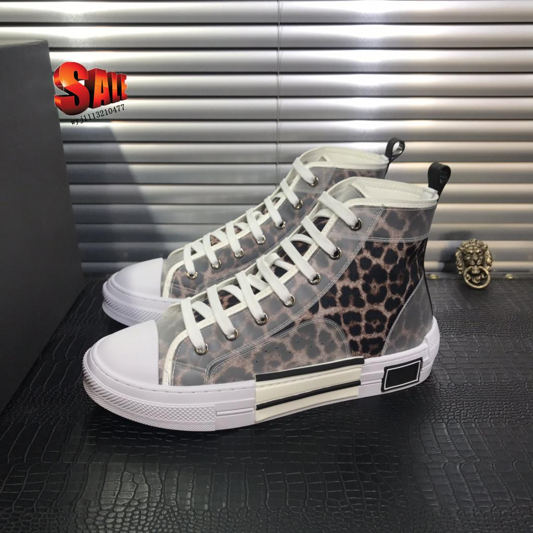 luxury New sale Oblique technology fabrics high help casual Shoes B23 Mens Designer Shoes Womens SneakersWith box