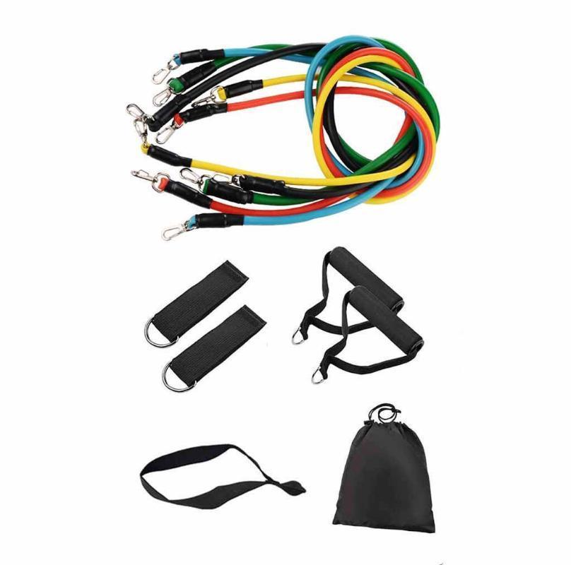 11 In-Upgrade-Kit Widerstand-Bänder stellten Yoga Rubber Latex Fitness Re sistance Bands Übung Elastic Pul Sport Fitness Startseite neue