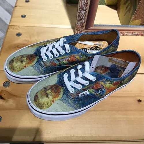NewVans X Vincent Van Gogh Museum Authentic Self Portrait Shoes Van Men Womwn Shoes Girl Running Shoes Running Shoes Boys From Hihir12, $48.74|