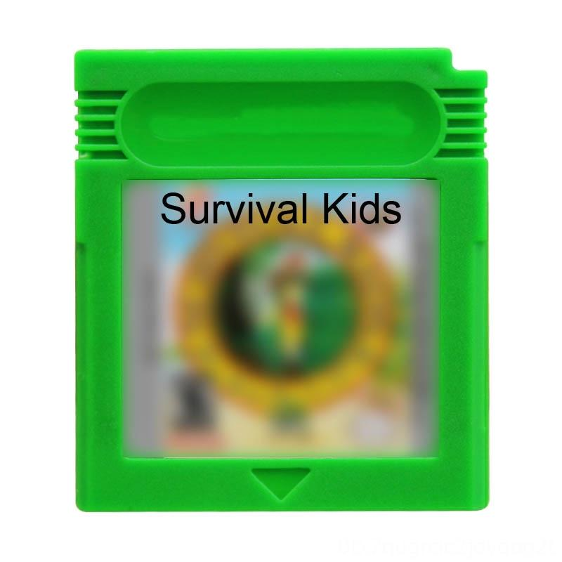 Survival Kids 16 Bit Video Cartridge Console Card Game Series US English Memory Cards & Hard Drivers Game Accessories Language Edition