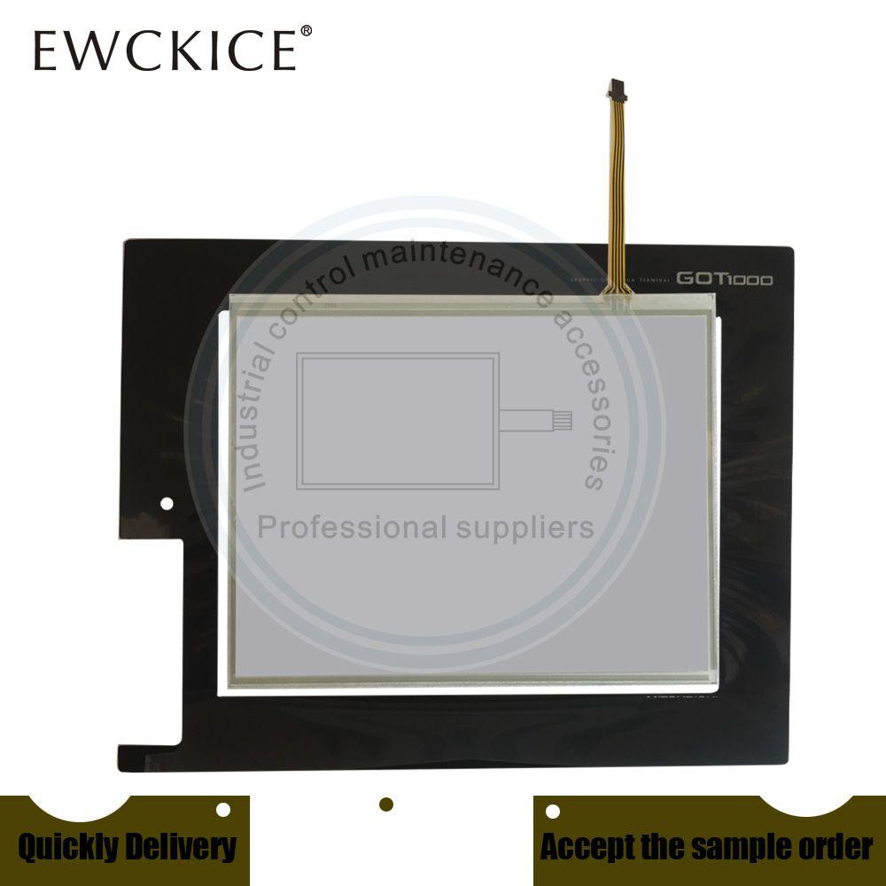 Original NEW GT1665M-STBD GT1665M-VTBD GT1665M-VTBA PLC HMI Industrie-TouchScreen und Frontetikett Film