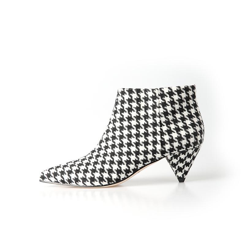 2019 botas novas das mulheres novas quentes com a manta elegante de couro confortável do partido dos saltos baixos