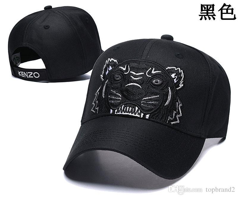 Neue Design Papa Cap Baumwolle Bestnote Golf Caps Tiger Stickerei Hüte Baseball Cap Männer Frauen Knochen Trucker Hut Gorras Hysterese Hip-Hop
