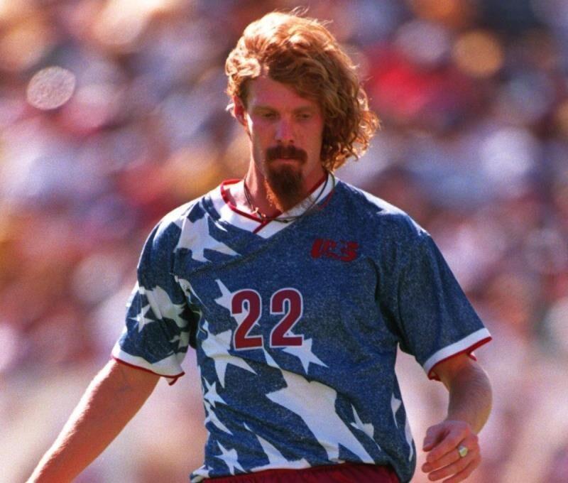Acquista Top 1994 USA Shirt Lontano Retrò Calcio Del Pullover Wegerle Lalas Ramos Balboa Stati Uniti 94 DellAmerica Maglie Da Calcio Classico A 13,1 € ...