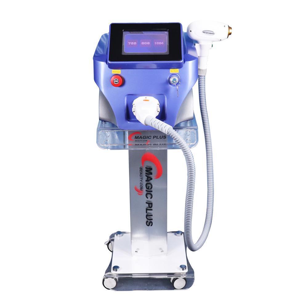 Prezzo di fabbrica 808nm 755nm 1064nm diodo Laser Hair Removal / 3 rimozione lunghezza d'onda Laser Hair Permanent macchina di bellezza