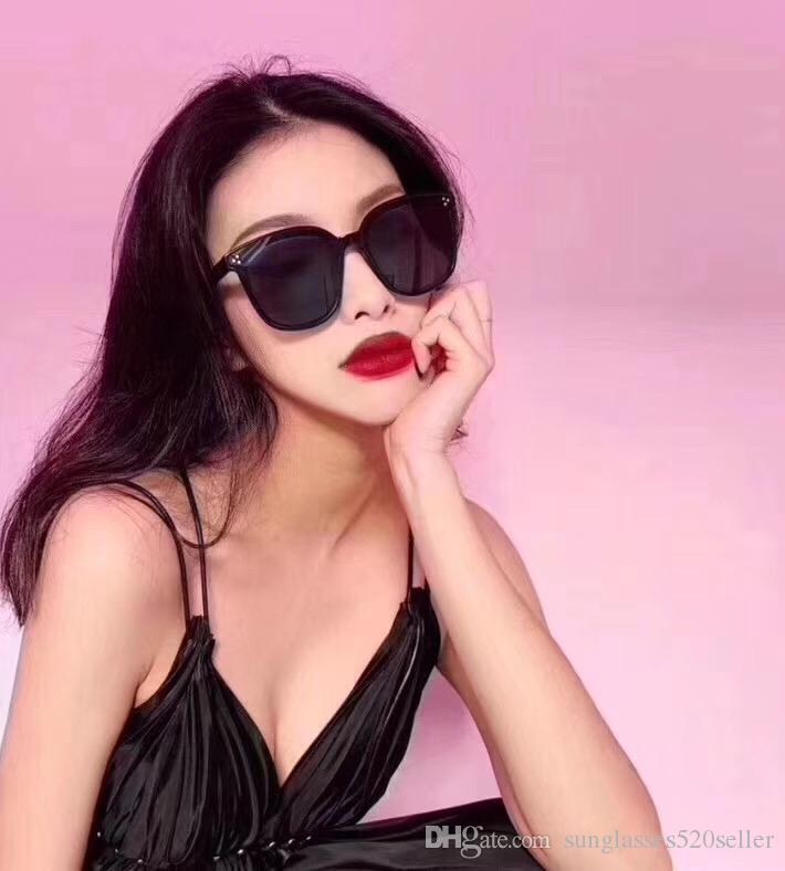 Vendita calda famosa della Corea Occhiali da Sole Nuovo Popolare GM JACK BYE occhiali da sole unisex di moda per uomini e donne UV400 occhiali da sole con la scatola
