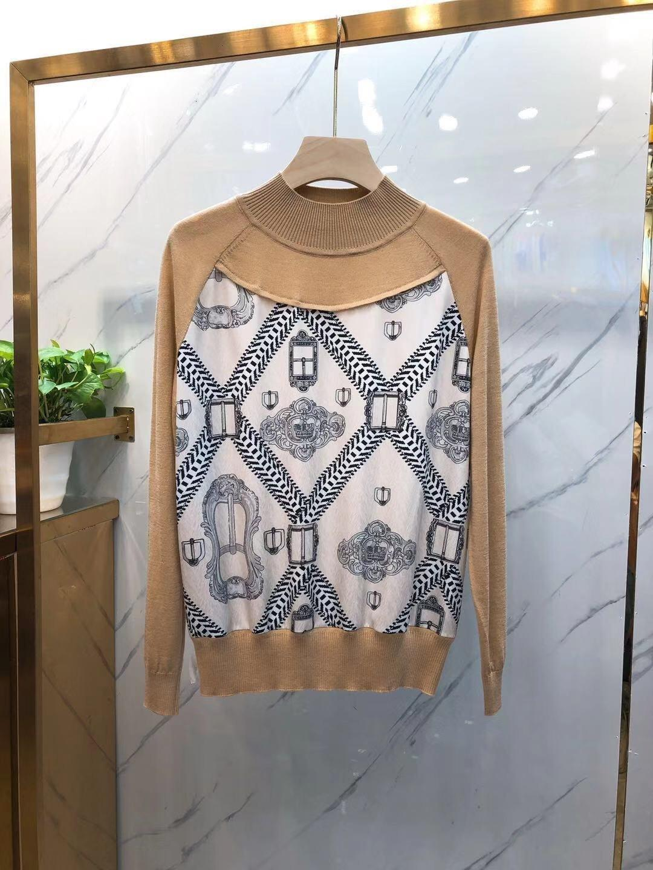 2019 donne superiori maglioni caldi maglioni invernali giacche casual felpa Donna Top 191125-912r5 # 47640