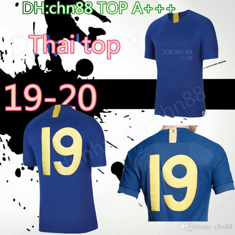 50th Thai quality 2019 2020 KANTE PULISIC HUDSON ODOI JORGINHO LAMPARD GIROUD soccer jerseys 19 20 home away third WILLIAN football shirts
