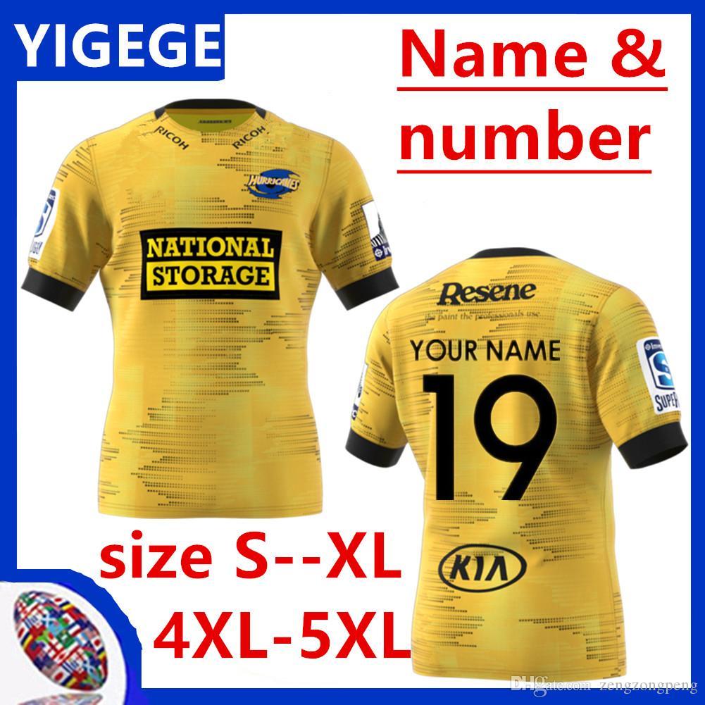 2020 Nova Zelândia Super Rugby Jersey azuis furacões cruzados Highlanders 18 19 20 Rugby Jerseys camisas tamanho S-XL-5XL (pode imprimir)