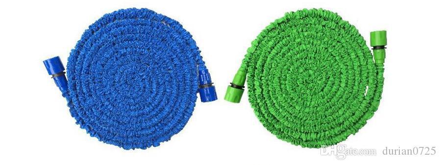 Tuyau d'arrosage Tuyaux expansion magique Flexible d'arrosage Tuyau en plastique pour tuyaux, avec Pistolet Tube Tuyaux 50FT jardin Tuyau d'eau KKA1871