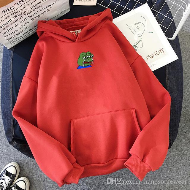Sad Tearing Print Hoodies Men/Women Hooded Sweatshirts Harajuku Hip Hop Hoodies Sweatshirt Male Japanese Streetwear Hoodie
