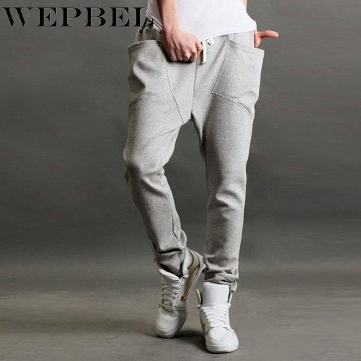WEPBEL New Cool Men Bag Jogging Hip-Hop Regular Fit Sports Harem Pants Trousers
