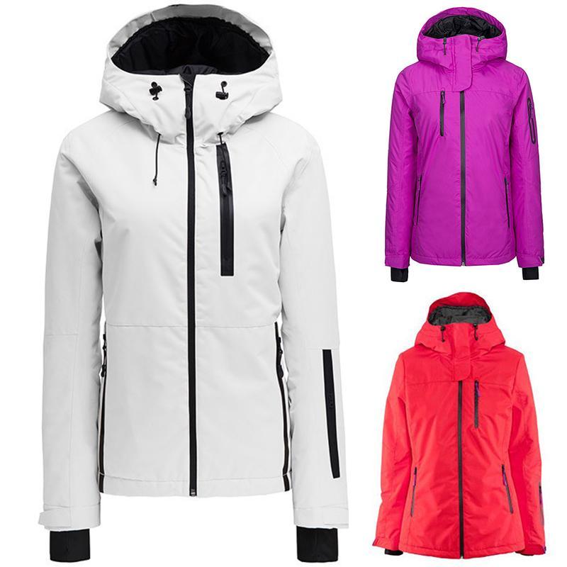 Зимняя рыбалка куртка женщины высокого качества лыжа куртка снег Теплого водонепроницаемый ветрозащитный спорт Женские Лыжные куртки 2020