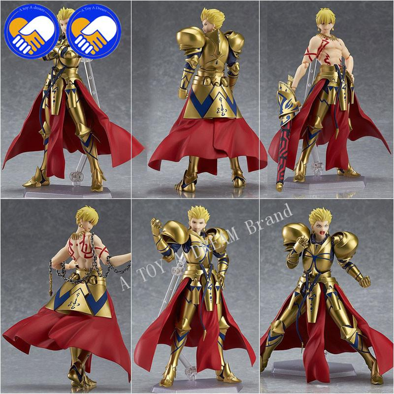 """New Fate//stay Night figma 300# Fate Gilgamesh PVC Action Figure Toy 5.5/"""""""