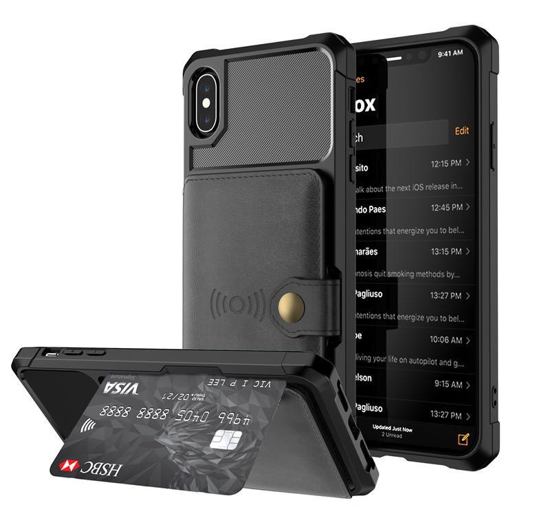 Чехлы для магнитных карт для автомобильного кармана Чехол для iphone xs max xr Чехлы для iphone 6 7 8 plus с анти-полной защитой