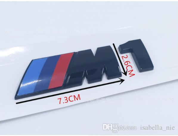 M Tech sports for bmw emblem stickers for M1 M2 M3 M4 M5 M6 car emblem sticker 73mm