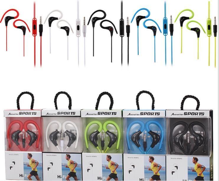 삼성 MP3의 MP4 스포츠 인 - 이어 이어폰 마이크 Actrail와 SF-A41 HI-FI 스포츠 이어폰 범용 3.5mm의 헤드폰 이어폰