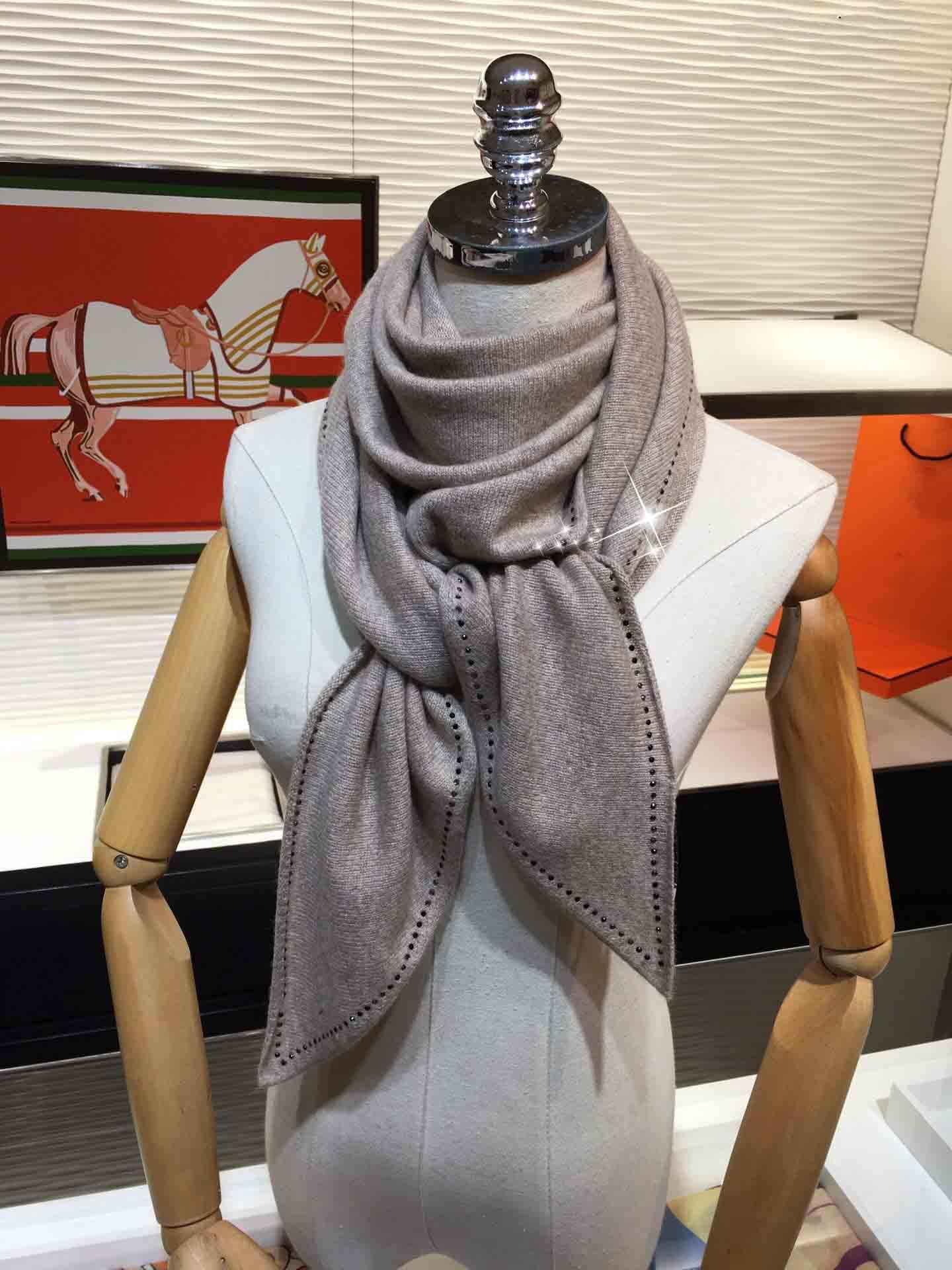 colore solido 2020 autunno e la nuova sciarpa di inverno delle donne paillettes imitazione di cachemire nappa caldo scialle sciarpa sciarpa