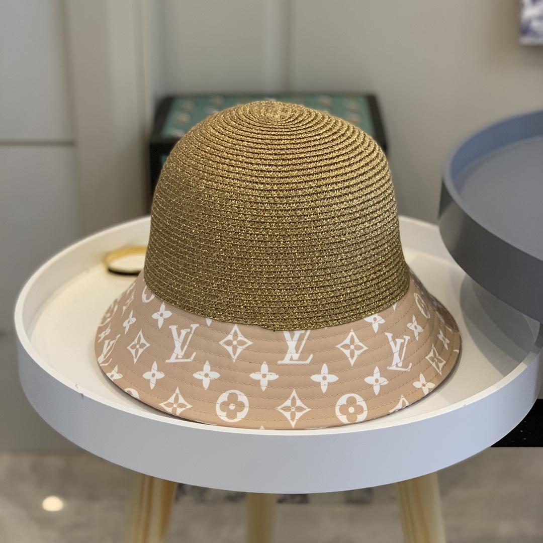 Printemps et été Nouveau dames Lafite Chapeau de paille mode Flat Top Hat Big Visor Out of the Sun Hat BB233 crème solaire