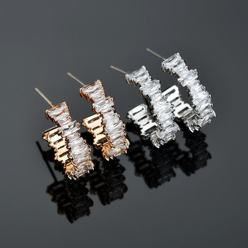 11.11 Orecchini coreano Gold Vintage Hoops per le donne 2020 Dichiarazione Orecchini Cancella orecchio ragazza gioielli Bijoux regalo di modo del polsino
