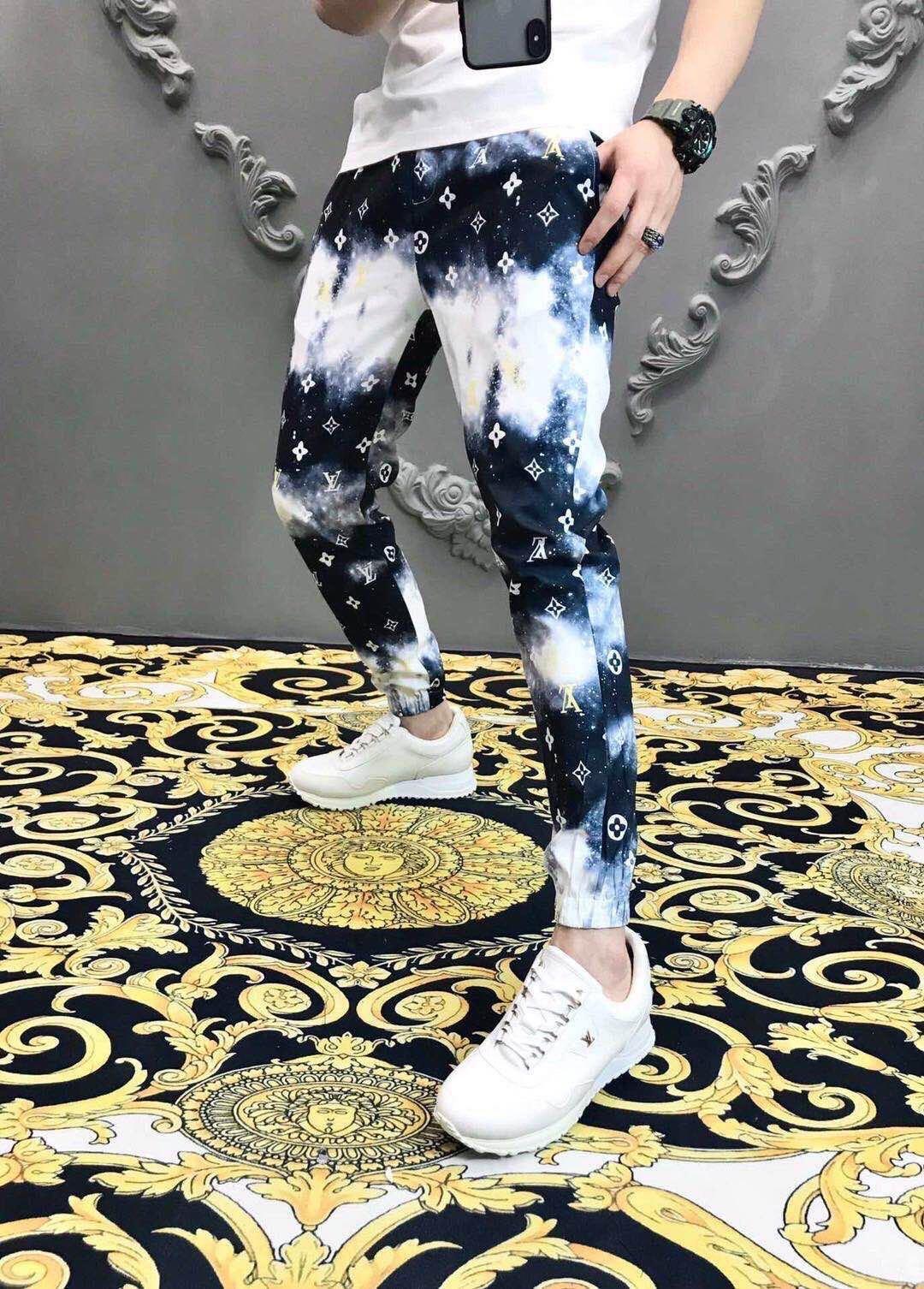 Lettre New Pants Crime Imprimer Vintage Sports Stripe Loisirs Mode Shorts pour hommes et femmes Pantalons de Hip Hop-xl ventes Feel Free Shop ~ # Q1