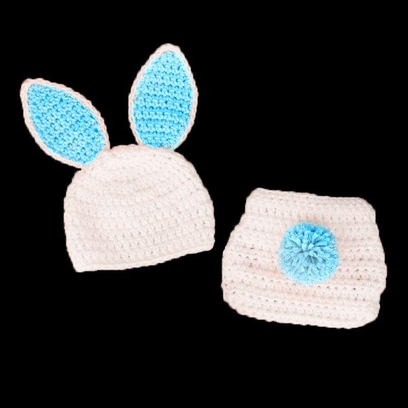 Newborn Easter Newborn Photo Prop Crochet Bunny Hat Bunny Diaper Cover Rabbit Newborn Girl Prop Newborn Bunny Hat And Diaper Cover Set