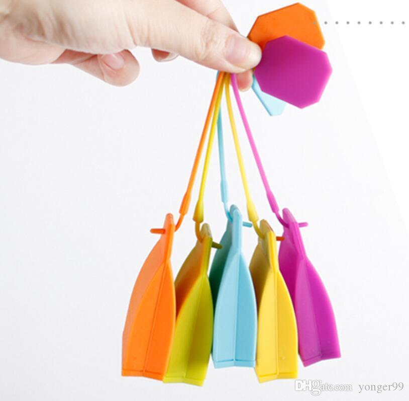Nova saco em forma de chá Infuser Popular Bag Estilo Tea Silicone Filtro Herbal Spice Filtro Difusor Kitchen Início Infusers chá emagrecedor Free navio