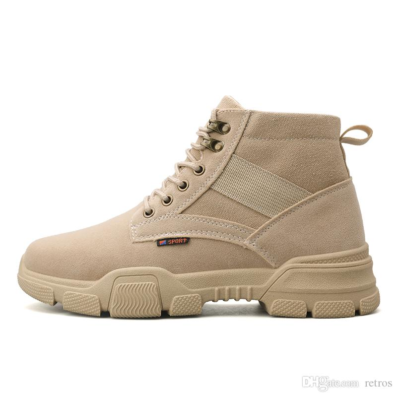 Original, de color caqui negro de alta escotado zapatos casuales Clásico Hombres Mujeres Zapatos deporte de la lona de tamaño para hombre de Formadores al aire libre jogging zapatillas de deporte 40-44