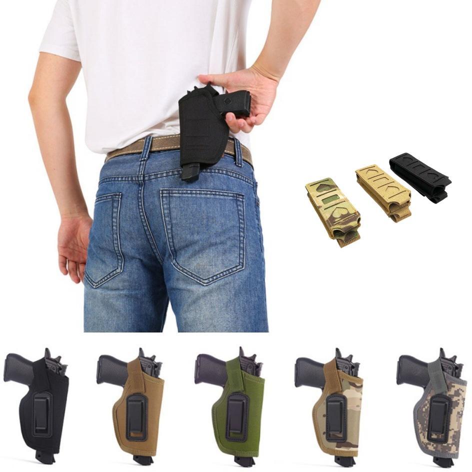 étui pistolet tactique IWB douille de cartouche Matching 2 pcs Convient pour tous les pistolets compacts gauchers peuvent également être utilisés.