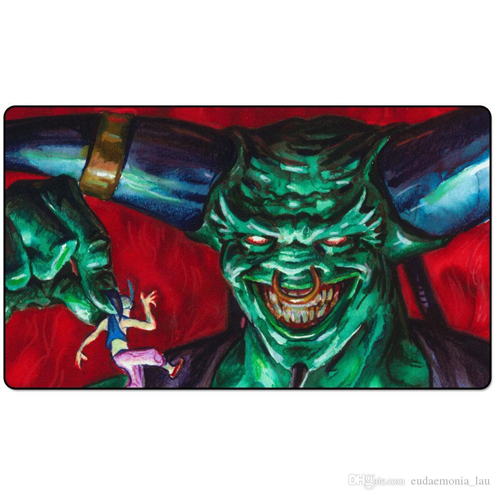 Jogo Magic Board Playmat: Juzam Djinn 60 * 35cm Tamanho Table Mato Mousepad Tapete