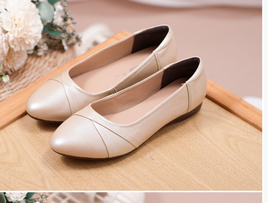2020 весна и осень с новым стилем мода плоское дно круглая головка Женская обувь @MQWBH696